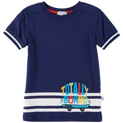 Flapdoodles Toddler Boys Totally Board T-Shirt