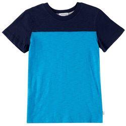 Flapdoodles Little Boys Football Colorblock T-Shirt