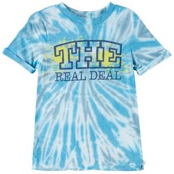Flapdoodles Little Boys The Real Deal Tie Dye T-Shirt