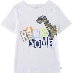 Flapdoodles Little Boys Rawr-some Dinosaur T-Shirt