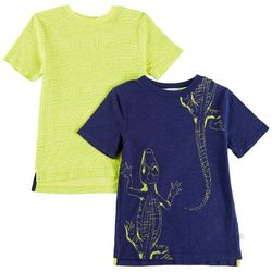 Flapdoodles Little Boys 2-pk. Alligator T-Shirts