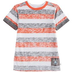 Flapdoodles Little Boys Multi Stripe T-Shirt