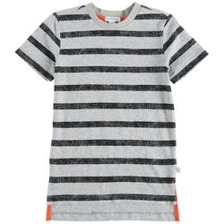 Flapdoodles Little Boys Distressed Stripe T-Shirt