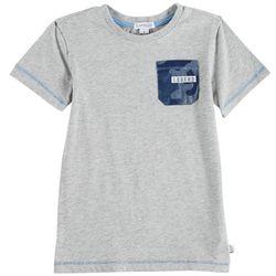 Flapdoodles Little Boys Camo Pocket T-Shirt