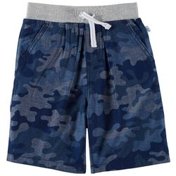 Flapdoodles Little Boys Camo Shorts