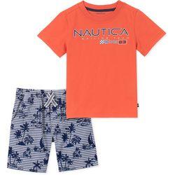 Nautica Little Boys Sailing Team Shorts Set