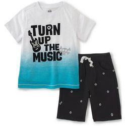 Nautica Little Boys Turn Up The Music Shorts Set