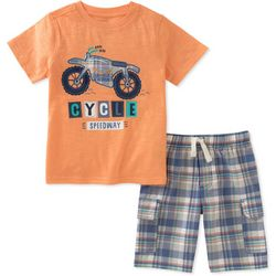 Nautica Little Boys 2-pc. Cycle Speedway Shorts Set