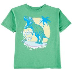TSI Little Boys Dino Surf T-Shirt
