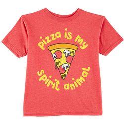 TSI Little Boys Pizza Is My Spirit Animal T-Shirt