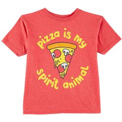 TSI Little Boys Pizza Is My Spirit Animal T-Shirt