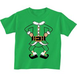 TSI Little Boys Elf Pose T-Shirt