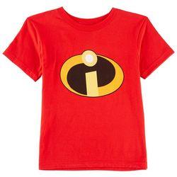 Disney The Incredibles Little Boys Logo T-Shirt