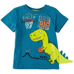 Hollywood Little Boys Dream Big Dino Tail T-Shirt