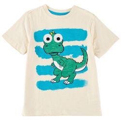 Hollywood Toddler Boys Googly Eye Dino T-Shirt