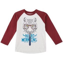 Hollywood Toddler Boys Harworking Raglan T-Shirt