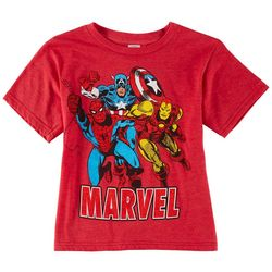 Marvel Little Boys Team Graphic T-Shirt