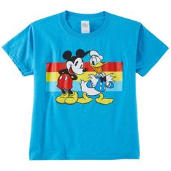 Disney Little Boys Mickey Mouse And Donald Graphic