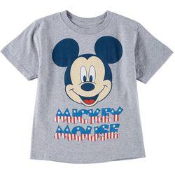 Disney Mickey Mouse Little Boys Americana Mickey T-Shirt