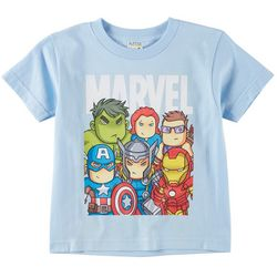 Marvel Avengers Little Boys Team Graphic T-Shirt