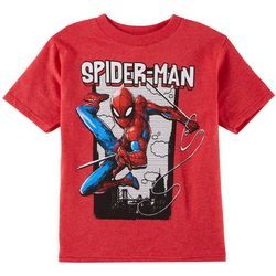 Marvel Spider-Man Little Boys Comic Frame Graphic