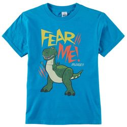 Disney Toy Story Little Boys Fear Me Graphic T-Shirt
