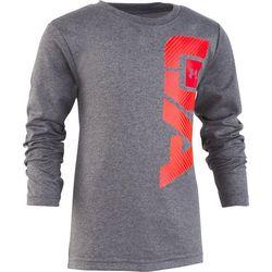 Under Armour Little Boys Logo Long Sleeve T-Shirt