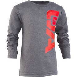 Under Armour Little Boys Logo Long Sleeve T-Shirt
