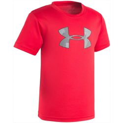 Under Armour Big Boys UA Tech Camo Logo T-Shirt