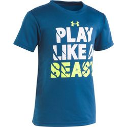 Under Armour Little Boys UA Play Like A Beast T-Shirt