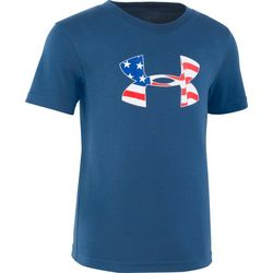 Under Armour Little Boys UA Flag Icon T-Shirt