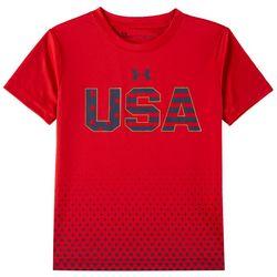 Under Armour Little Boys USA Stars T-Shirt