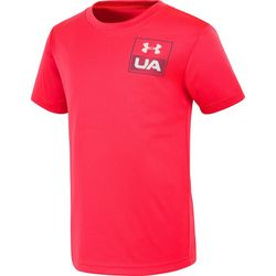 Under Armour Little Boys Vertical Logo T-Shirt