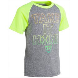 Under Armour Little Boys UA Take It Home Raglan T-Shirt