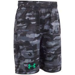 Under Armour Little Boys UA Knockout Grit Camo Shorts