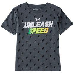 Under Armour Little Boys UA Unleash Speed T-Shirt
