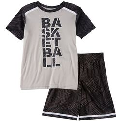 Spalding Little Boys Basketball Shorts Set