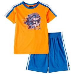 Spalding Little Boys 2-pc. Dominate The Field Shorts Set