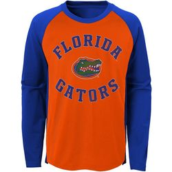 Florida Gators Little Boys Air Raid Raglan T-Shirt