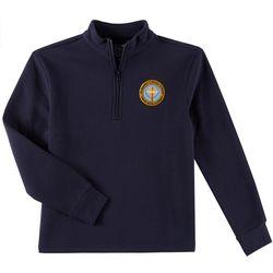 School Colors Adult St. Martha Uniform 3/4 Zip