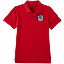 School Colors Youth St. Mary Uniform Polo Shirt