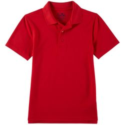 School Colors Youth Solid Polo Shirt