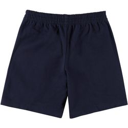 School Colors Youth St. Mary Twill Uniform Shorts