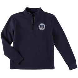 School Colors Youth St. Mary Uniform Quarter Zip Sweatshirt