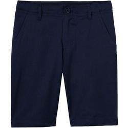 French Toast Little Boys Flat Front Uniform Shorts