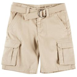 French Toast Big Boys Belted Cargo Shorts