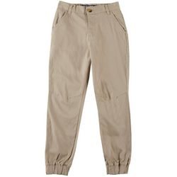 French Toast Big Boys Solid Stretch Jogger Pants