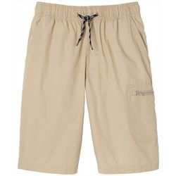 French Toast Big Boys Solid Utility Shorts