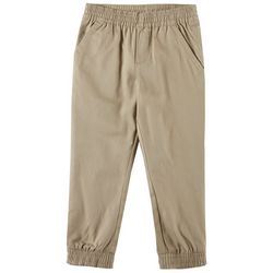 French Toast Little Boys Solid Pull On Jogger Pants