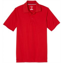 bee55916a French Toast Big Boys Solid Performance Polo Shirt